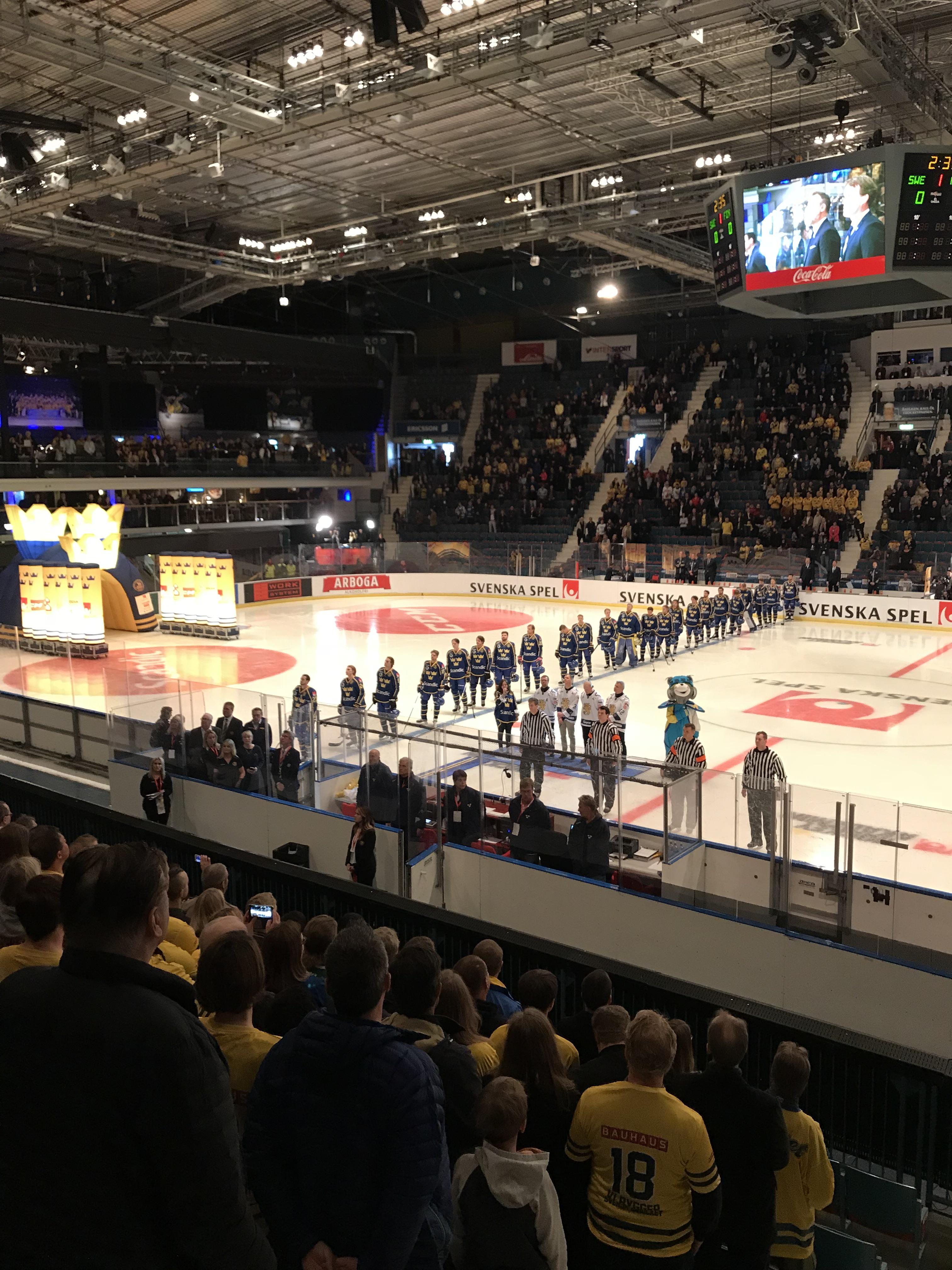 Medlemsresan Till Sweden Hockey Games
