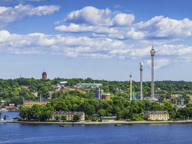 Stockholmsresa Till Djurgården I Stockholm