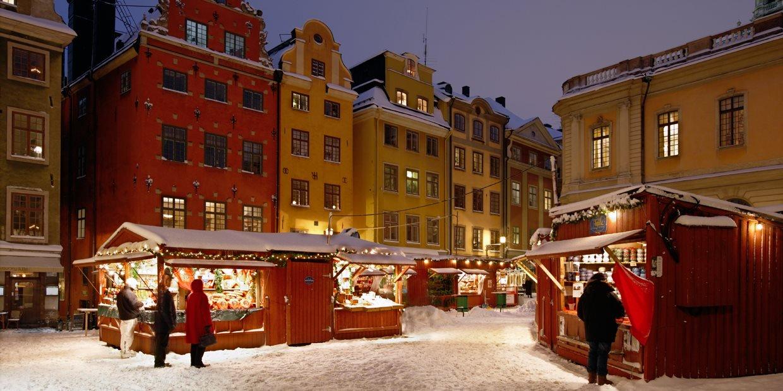Julresa – Stockholm